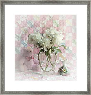 Sweet Memories Of Four Generations Framed Print by Sherry Hallemeier