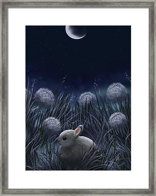 Sweet Night Framed Print by Veronica Minozzi