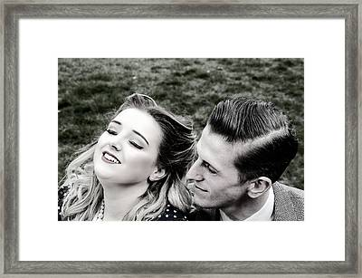 Sweet Nothings Framed Print