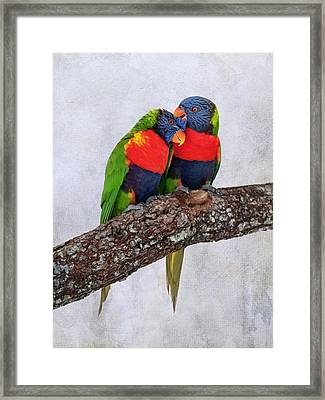 Sweet Pair Framed Print