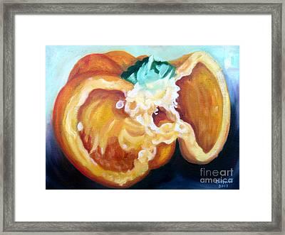 Sweet Pepper Framed Print
