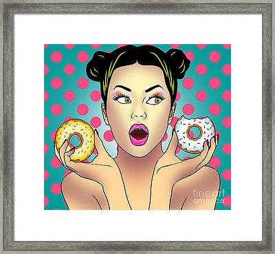 Sweet Pop  Framed Print
