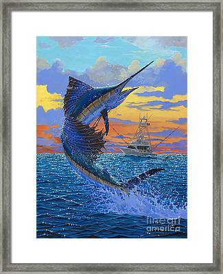 Sweet Release Framed Print by Carey Chen