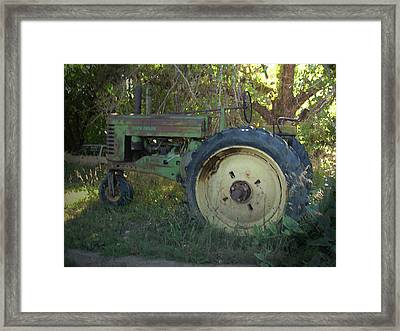 Framed Print featuring the photograph Sweet Retirement by Tammy Sutherland