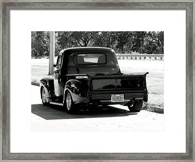 Sweet Ride Framed Print