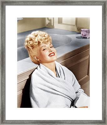 Sweet Rosie Ogrady, Betty Grable, 1943 Framed Print