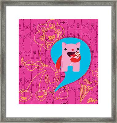 Sweet Framed Print by Seedys World