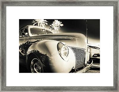 Sweet Sepia Framed Print