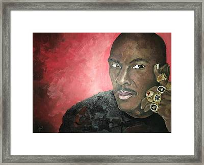 Sweet Six  Framed Print by Luther Wright