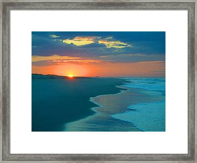 Framed Print featuring the photograph Sweet Sunrise by  Newwwman