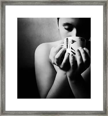 Sweet Taste Framed Print by Art of Invi