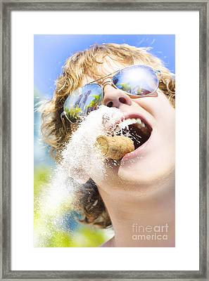Sweet Taste Of Success Framed Print by Jorgo Photography - Wall Art Gallery