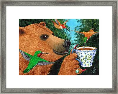 Sweet Tea Framed Print by Catherine G McElroy