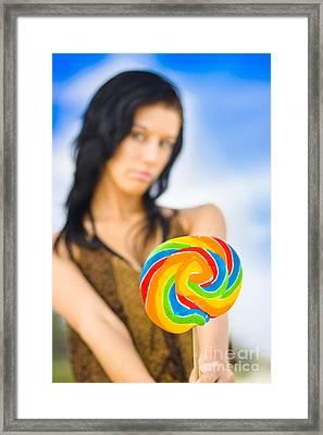 Sweet Thing Framed Print