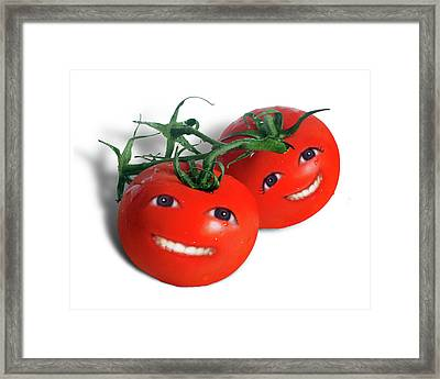 Sweet Tomatoes Framed Print