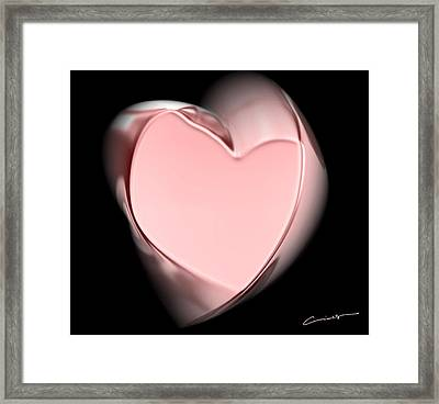 Sweet Twisted Love Framed Print