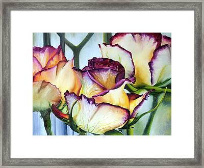 Sweetheart Roses Framed Print