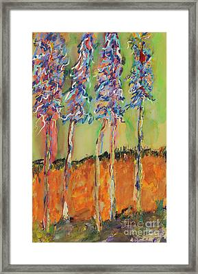 Sweetheart Hill Framed Print by Pat Saunders-White