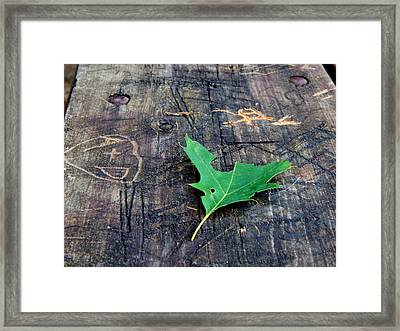 Sweethearts Framed Print by Wild Thing