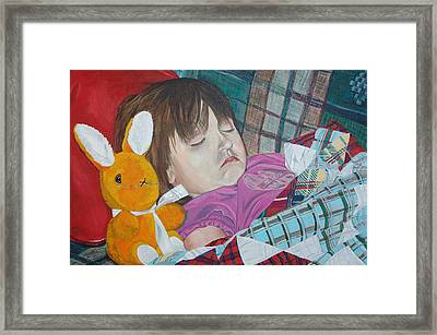Framed Print featuring the painting Sweetie Pie by Kevin Callahan