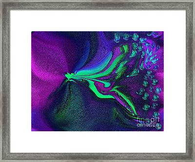 Sweetie The Dragon Fly Framed Print