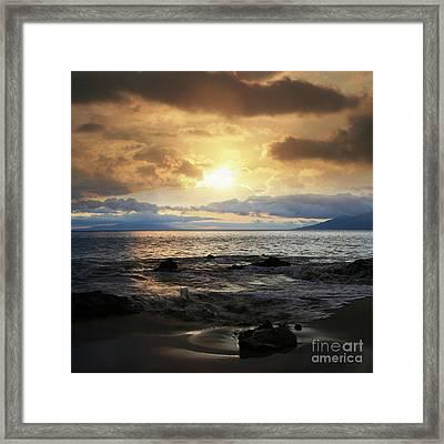 Sweetness Of Devotion Framed Print