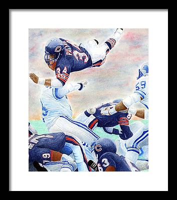 Football Framed Prints