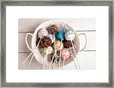 Sweets For My Darling Framed Print