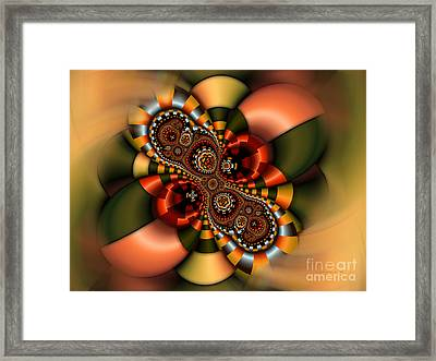 Framed Print featuring the digital art Sweets by Karin Kuhlmann