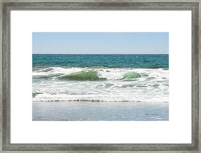 Swell Framed Print by Donna Blackhall