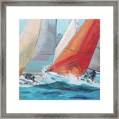 Swells Framed Print