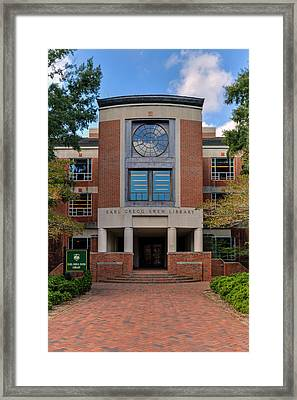 Swem Library Framed Print