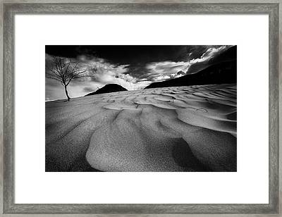 Framed Print featuring the photograph Swerves And Curves In Jasper by Dan Jurak