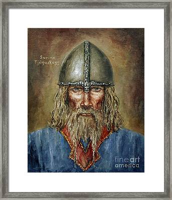 Sweyn Forkbeard Framed Print