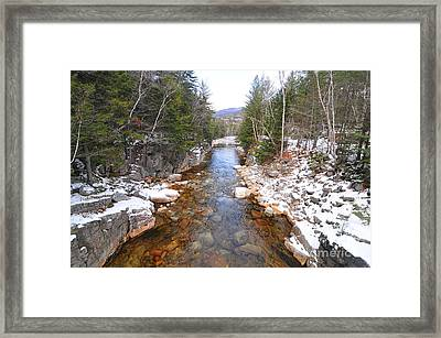 Swift River, New Hampshire  Framed Print by Catherine Reusch Daley