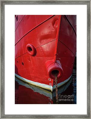 Swiftsure Framed Print by Inge Johnsson