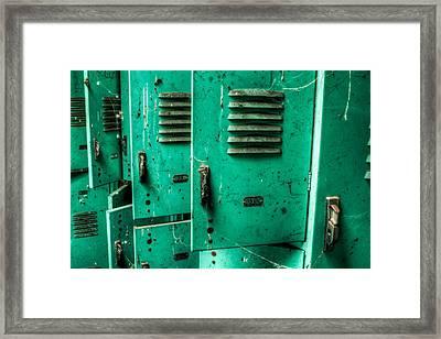 Swim Meet Framed Print