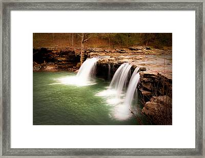 Swimming Hole Framed Print by Tamyra Ayles