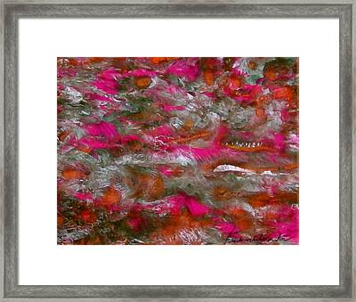 Swimming Lessons Framed Print by Teo Santa