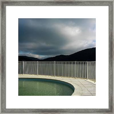 Swimming Pool Framed Print by Bernard Jaubert