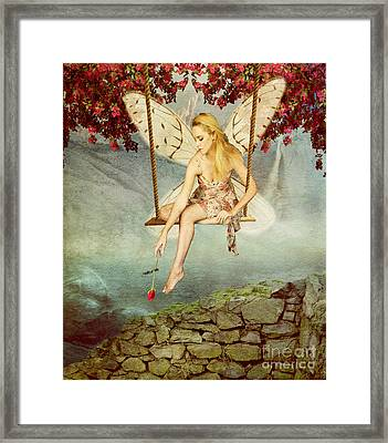 Swing Fairy Framed Print