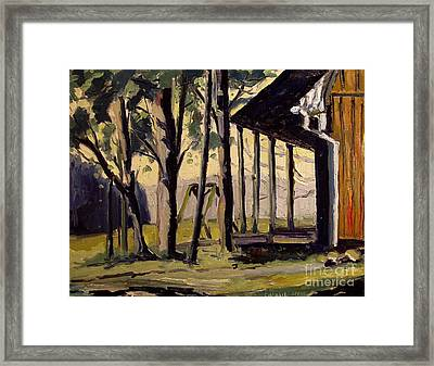 Swing Low Framed Print by Charlie Spear