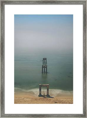 Swing Me To The Sky Framed Print
