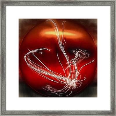 Swing On A Star Framed Print by Jim Buchanan