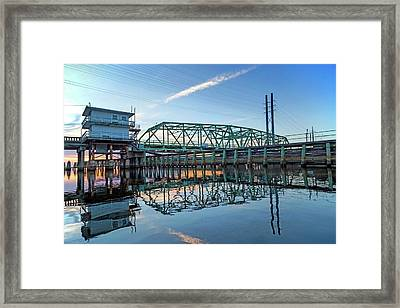 Swingin' In Surf City Framed Print by Betsy Knapp