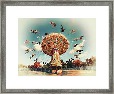 Swingin' Framed Print by Mark Miller