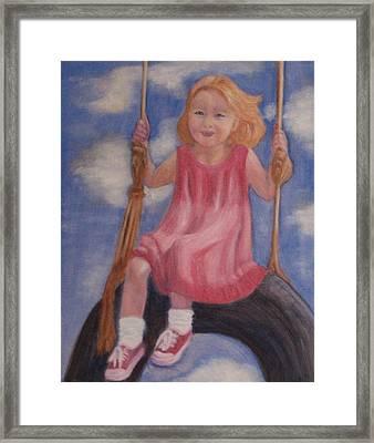 Swingin Framed Print by Patricia Ortman