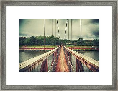 Swinging Framed Print by Laurie Search