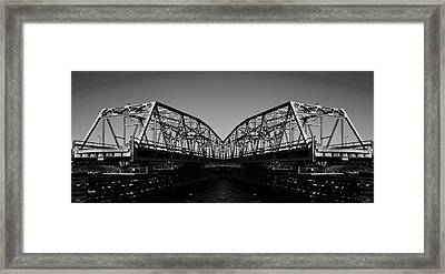 Swinging Reflection Framed Print