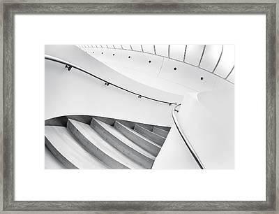 Swinging Staircase Framed Print by Gerard Jonkman